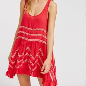 Free people trapeze slip dress!